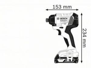 Bosch GDR 18V-160 akkus ütvecsavarozó
