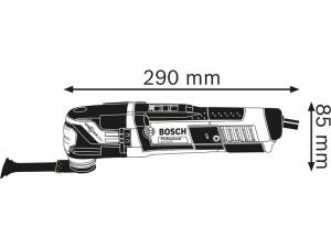 Bosch GOP GOP 55-36 Multifunkcionális gép L-BOXX tárolóban