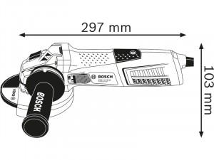 Bosch GWS 13-125 CI sarokcsiszoló