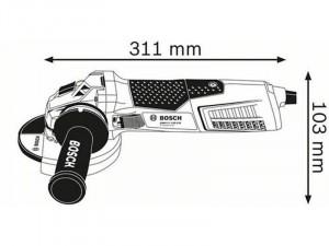 Bosch GWS 17-125 CIE sarokcsiszoló
