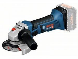 Bosch GWS 18-125 V-LI akkus sarokcsiszoló L-BOXX - akku nélkül