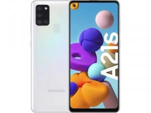 Samsung Galaxy A21S A217 32GB 3GB Dual-SIM Fehér Okostelefon