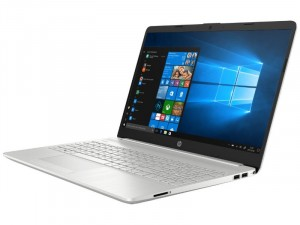 HP 15-DW1003NH - 15,6 FHD Matt IPS, Intel® Core™ i7 Processzor-10510U, 8GB DDR4, 512GB SSD, NVIDIA GeForce MX250 4GB, Windows 10 Home, Ezüst, Laptop