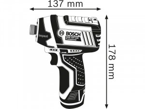 Bosch GDR 12V-105 akkus ütvecsavarozó - akku nélkül