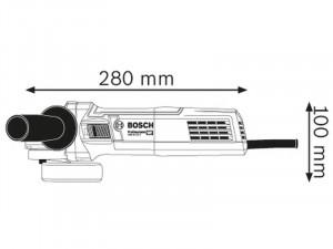 Bosch GWS 9-115 S sarokcsiszoló
