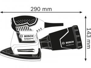 Bosch GSS 160 Multi Rezgőcsiszoló
