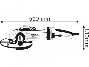Bosch GWS 22-180 LVI sarokcsiszoló