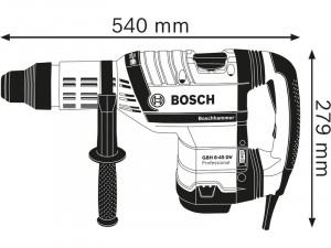 Bosch GBH 8-45 DV Fúrókalapács SDS max rendszerrel