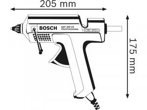 Bosch GKP 200 CE Ragasztópisztoly