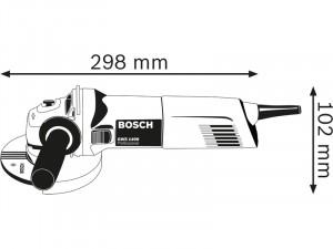 Bosch GWS 1400 sarokcsiszoló