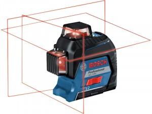 Bosch GLL 3-80 Vonallézer + BT 150 Professional állvány