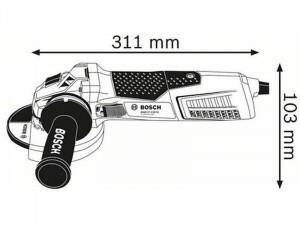 Bosch GWS 19-125 CIST sarokcsiszoló
