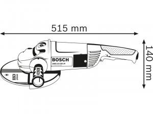 Bosch GWS 22-230 H sarokcsiszoló