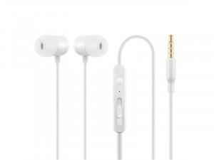 ACME HE21W Mikrofonos fülhallgató, fehér