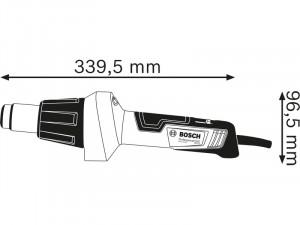 Bosch GHG 20-60 Hőlégfúvó