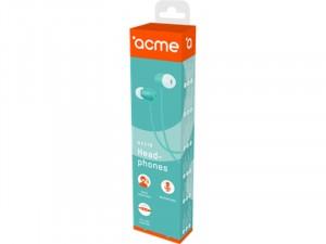 ACME HE21B Mikrofonos fülhallgató, kék
