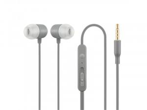 ACME HE21G Mikrofonos fülhallgató, szürke