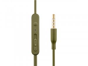 ACME HE21K Mikrofonos fülhallgató, kheki