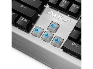 AULA Assault Mechanikus gaming billentyűzet, magyar kiosztás