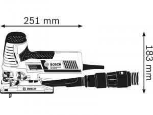 Bosch GST 160 CE szúrófűrész L-BOXX tárolóban