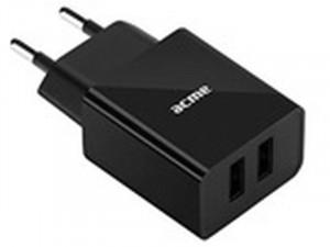 ACME CH205 2-ports USB 3.4A fali töltő