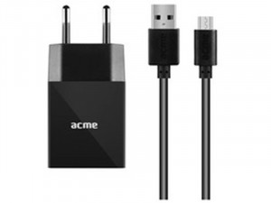 ACME CH211 USB Wall charger, 2.4A + Micro USB cable