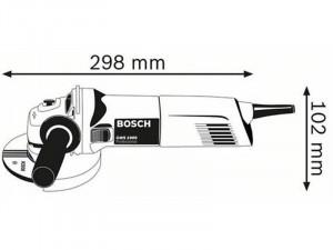 Bosch GWS 1000 sarokcsiszoló