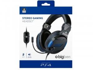 Stereo Gaming Headset V3 Fekete (PS4) fejhallgató