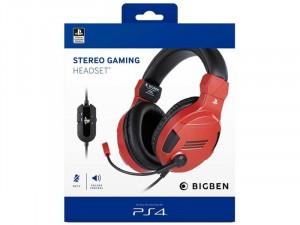 Stereo Gaming Headset V3 Piros (PS4)