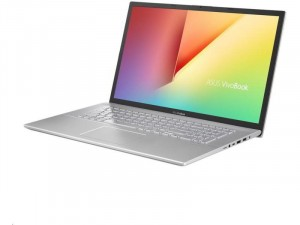 ASUS VivoBook S17 S712FB-AU370 - 15.6 FHD Matt, Intel® Core™ i5 Processzor-10210U, 8GB DDR4, 256GB SSD PCI-e NVME, NVIDIA GeForce MX110 2GB, FreeDOS, Ezüst Laptop