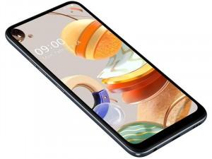 LG K61 LMQ630EAW Dual-SIM Szürke Okostelefon