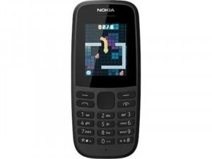 Nokia 105 2019 DualSIM Fekete Mobiltelefon