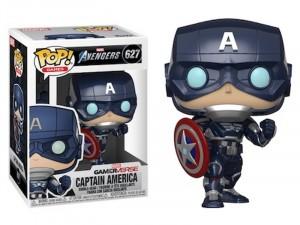 POP Games Marvel Avangers: Gameverse Captain America Figura