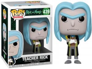 POP Movies Rick és Morty Teacher Rick Figura