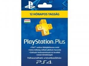 365napos PlayStation Plus előfizetés. Kártyás kivitel PSN