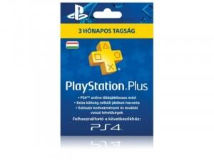 90napos PlayStation Plus tagság előfizetse. Kártyás kivitel PSN