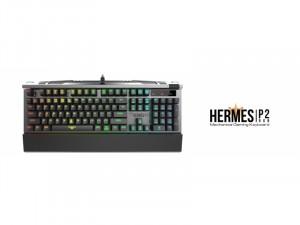 Gamdias HERMES P2 Mechanikus gamer billentyűzet - Kék switch - UK - angol kiosztású