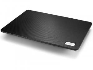 DeepCool Notebook Hűtőpad 15,6-ig - N1 BLACK (20dB; max. 143,9 m3/h; 18cm, 1xUSB2.0)