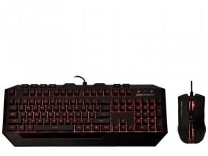 Cooler Master Devastator 2 Gaming Combo Red Version HUN - SGB-3031-KKMF1-HU egér + billentyűzet