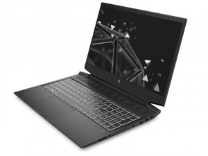 HP Pavilion Gaming 16-a0003nh 16,1FHD, Intel® Core™ i5 Processzor-10300H, 8GB RAM, 512GB SSD, NVIDIA GTX 1650 4GB, FreeDOS, Fekete laptop