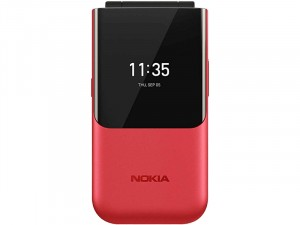 Nokia 2720 Flip Dual-SIM Piros Mobiltelefon