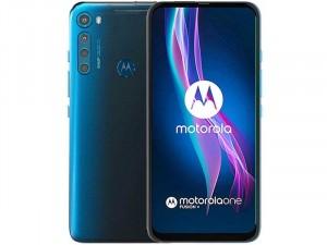 Motorola One Fusion+ 128GB 6GB LTE DualSIM Kék Okostelefon