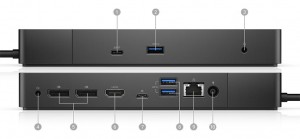 Dell Dock WD19 with 130W EU AC adapter