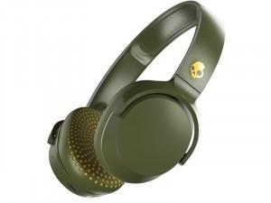 Skullcandy S5PXW-M687 - Riff Wireless Zöld-Sárga vezeték nélküli fejhallgató (Olive/Moss/Yellow)