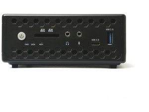 ZOTAC ZBOX-CI329NANO-BE MINI Intel® Celeron Quad Core™ N4100, 4GB RAM, 32GB SSD Asztali Számítógép