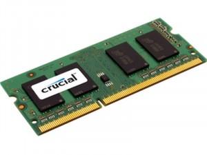 Crucial CT51264BF160BJ DDR3 1600MHz 4GB laptop memória
