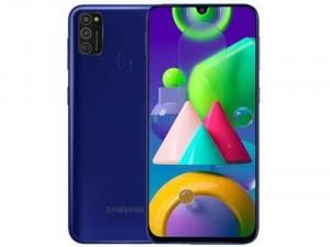 Samsung Galaxy M21 M215F 64GB 4GB Dual-SIM Kék Okostelefon