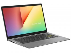 Asus VivoBook S14 S433JQ-AM080 - 14 FHD Matt, Intel® Core™ i5 Processzor-1035G1, 8GB DDR4, 256GB SSD, NVIDIA GeForce MX350 2GB, FreeDOS, Fekete Laptop