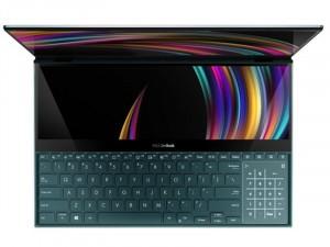 Asus ZenBook Pro Duo UX581LV-H2014R - 15.6 UHD IPS Fényes, Intel® Core™ i9-10980HK, 32GB DDR4, 1TB SSD, NVIDIA GeForce RTX 2060 6GB, Windows 10 Pro, Kék Laptop
