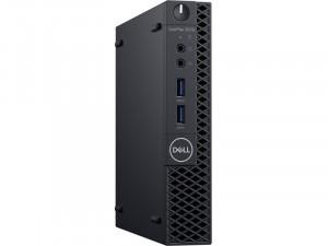 Dell OptiPlex 3070 Micro 3070MICRO-1 - Intel® Core™ i3 Processzor-9100T, 8GB DDR4, 256GB SSD, Intel® UHD Graphics 60, Windows 10 Pro, Fekete Asztali Számítógép